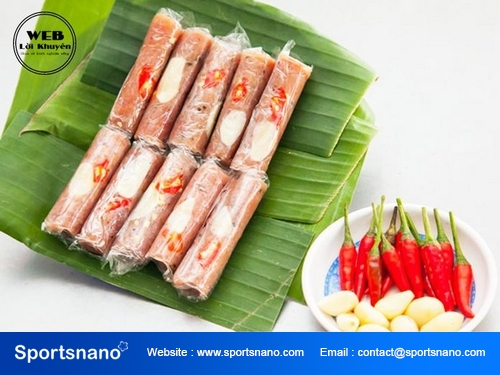 Nem chua Thanh Hoá - Món ăn đặc sản được nhiều người yêu thích