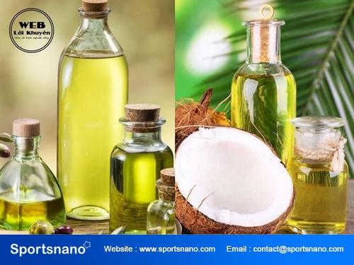 Cách làm đẹp với dầu dừa và dầu oliu hiệu quả nhất
