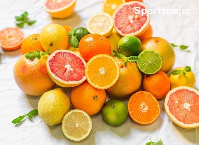 Trái cây họ cam quýt cung cấp nhiều vitaminC